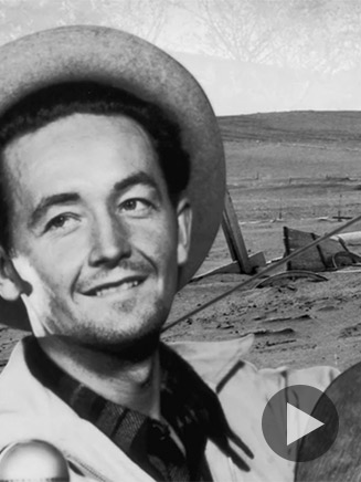 Woodie Guthrie Video on Biography.com